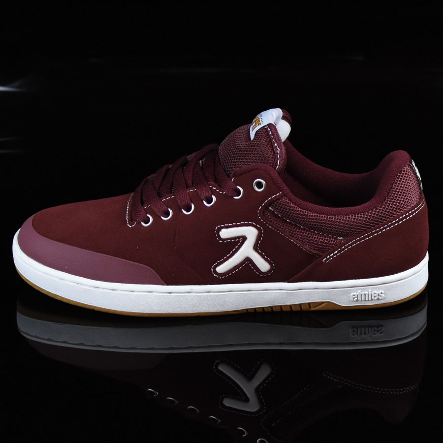 Burgundy Shoes Marana X Hook-Ups Shoes in Stock Now