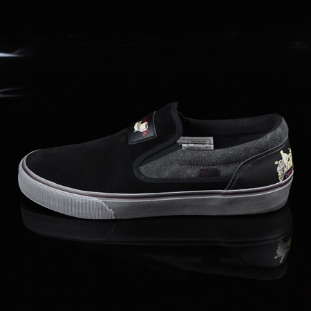 DC Shoes Trace Slip-On Cliver Shoes Black in stock now.