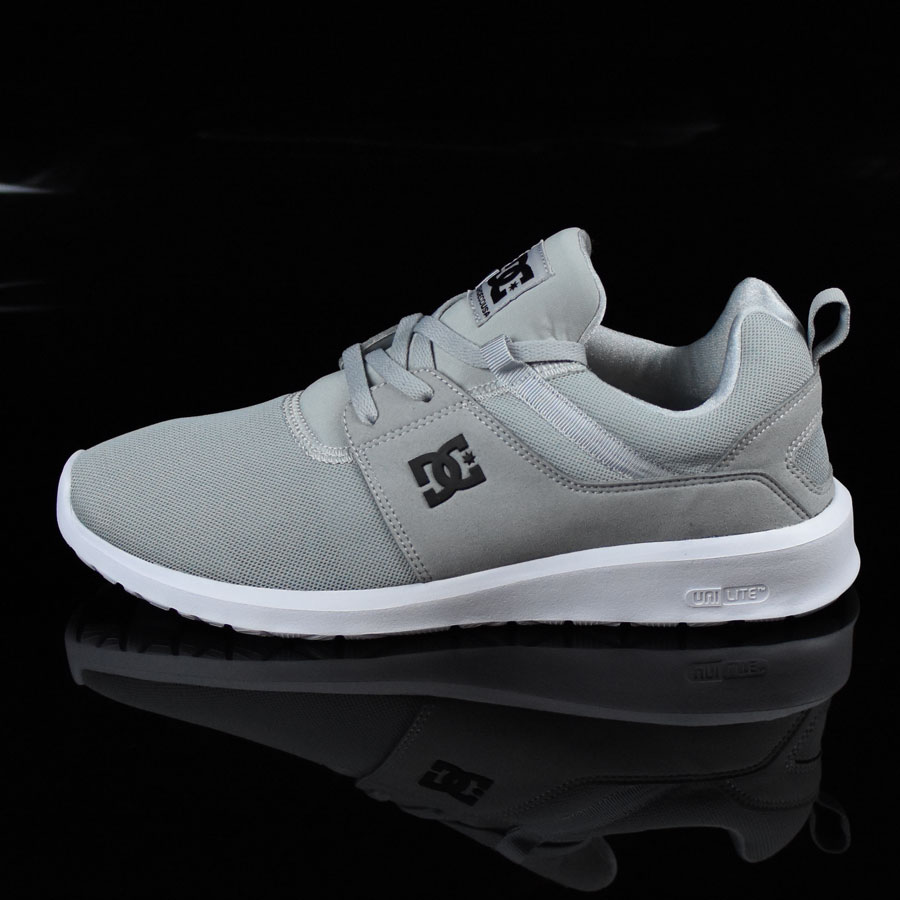 Light Grey, White Shoes Heathrow Shoes in Stock Now