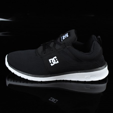Size 9 in DC Shoes Heathrow Shoes, Color: Black, White