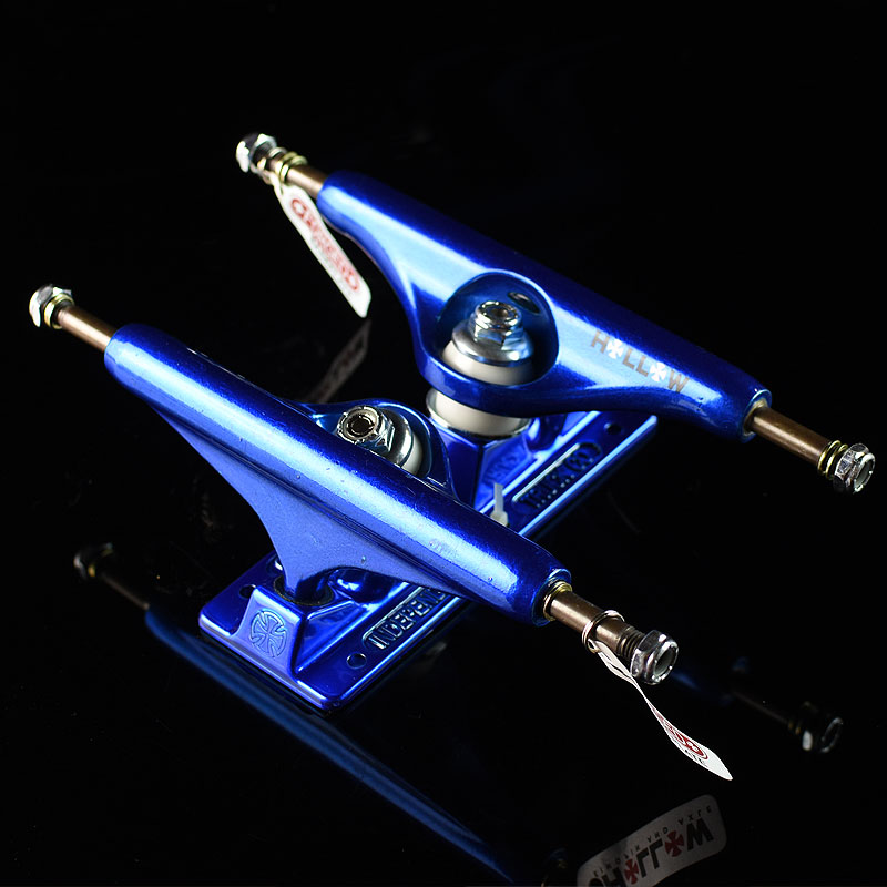 Anodized Blue Trucks Stage 11 Forged Hollow Trucks in Stock Now