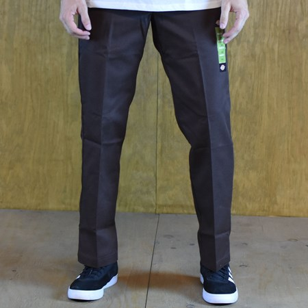 Dickies 67 Collection Slim Straight Work Pants Brown