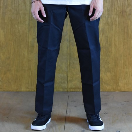 Dickies 67 Collection Slim Straight Work Pants Black