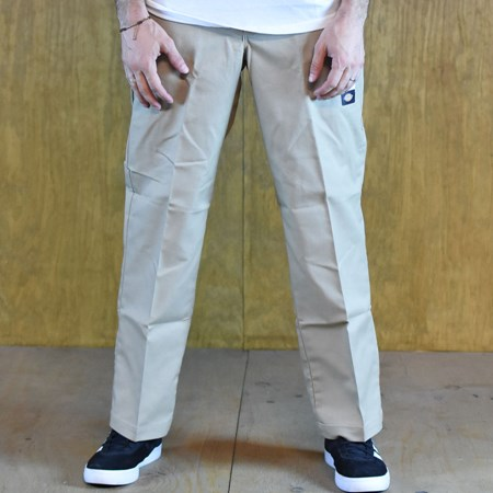 Size 30 X 30 in Dickies 67 Collection Regular Straight Work Pants, Color: Khaki