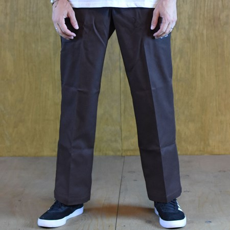 Dickies 67 Collection Regular Straight Work Pants Brown