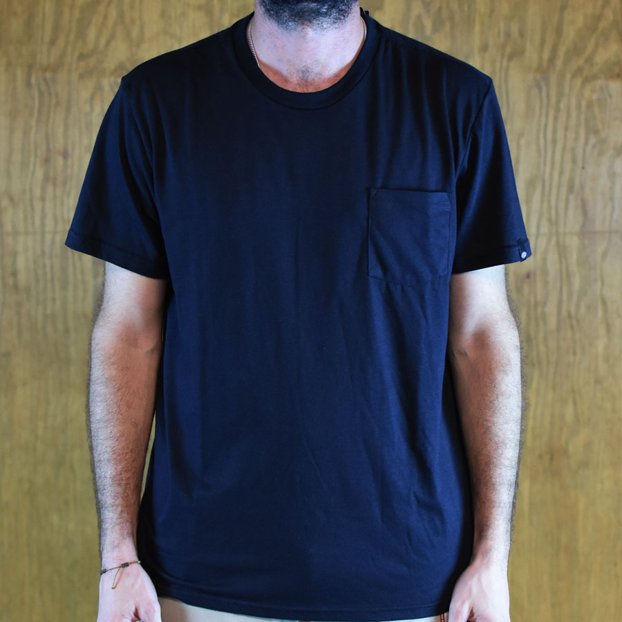 Black T Shirts Standard Pocket T Shirt in Stock Now