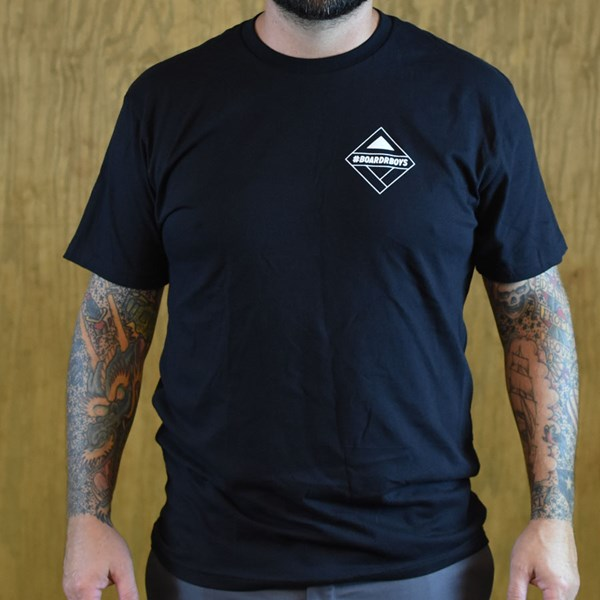 The Boardr #BoardrBoys T Shirt Black