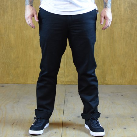 Doom Sayers DSC X Knowledge Tapered Fit Pants Black