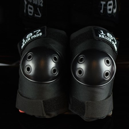 187 Killer Pads Standard Elbow Pads Black, Black in stock now.