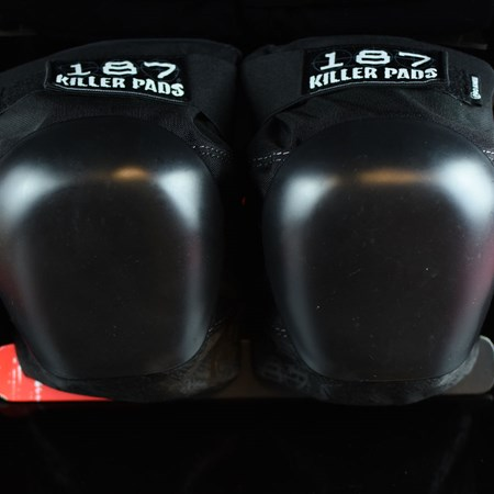 187 Killer Pads Pro Knee Pads Black, Black in stock now.