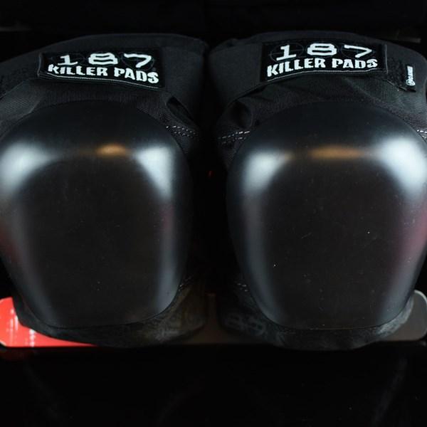 187 Killer Pads Pro Knee Pads Black, Black
