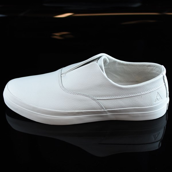 bb682050d52 Dylan Rieder Slip On Shoes White Leather In Stock at The Boardr