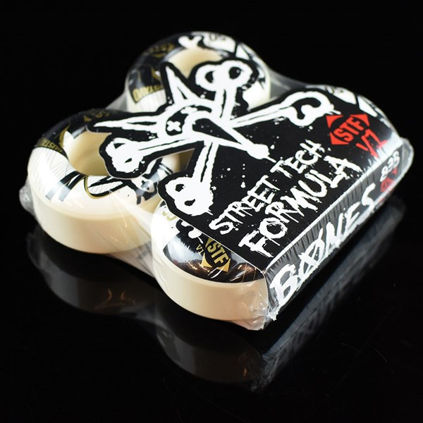 Bones Wheels Felipe Gustavo STF Bridge Wheels White
