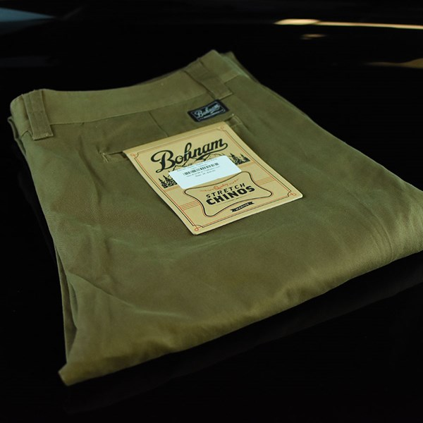 Bohnam Clayton Stretch Chino Pants Tobacco