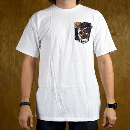 Bohnam Howlin' Custom Pocket T Shirt White