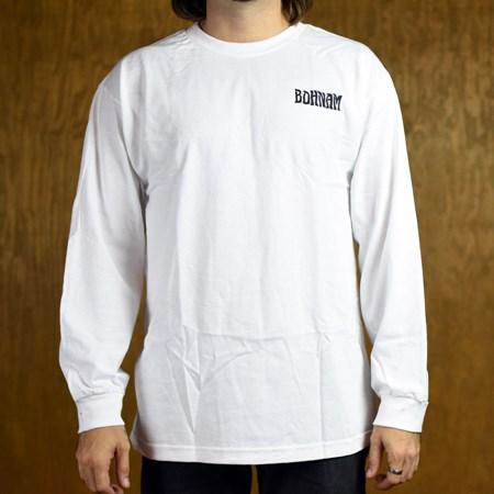 Bohnam Ramblin' Long Sleeve T Shirt White