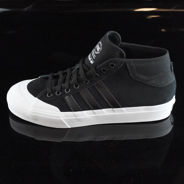 first rate 5d5b7 f9df1 adidas Matchcourt Mid Shoes Black, White