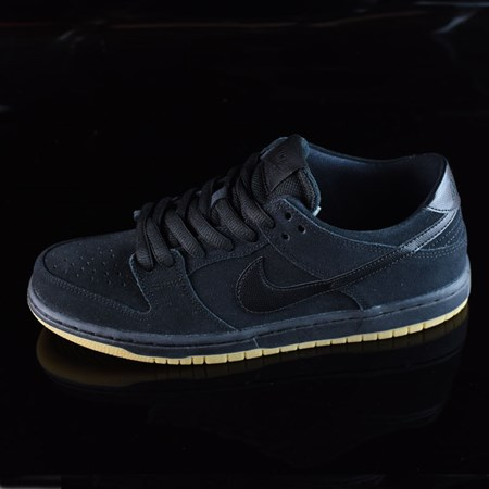 Nike SB Dunk Low Pro IW Shoes Black, Black, Gum