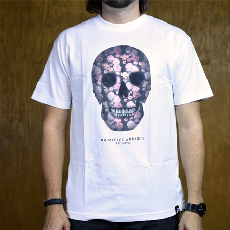Primitive Departed T Shirt White