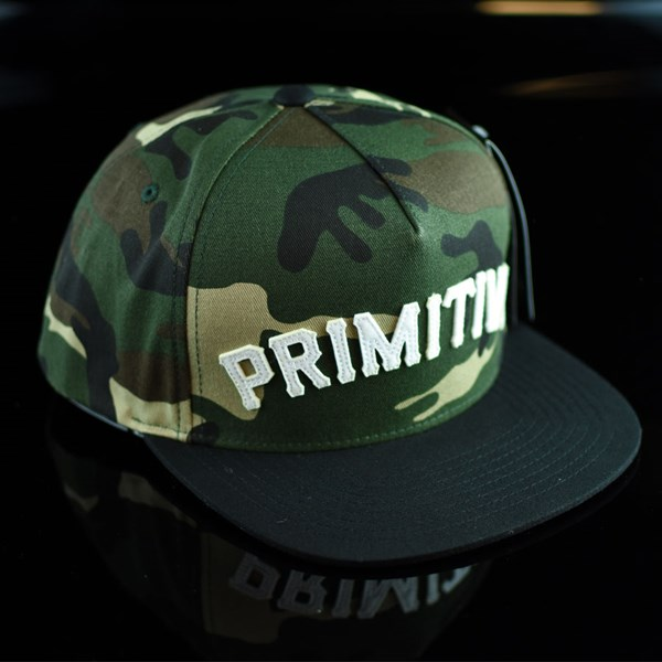 Primitive Slab Snap Back Hat Camo