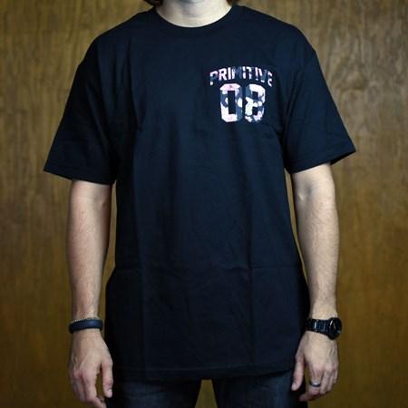 Primitive Alumni Rose T Shirt Black