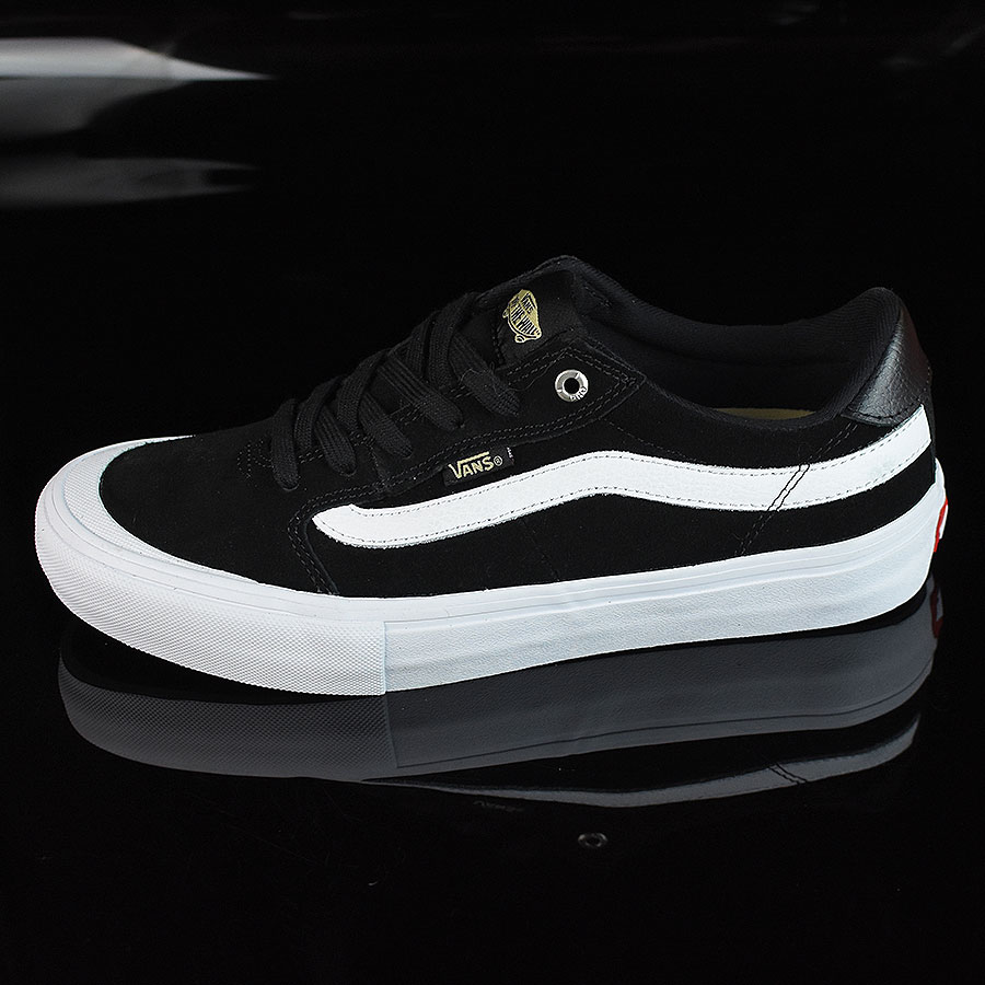 Black, Black, White Shoes Style 112 Pro Shoes in Stock Now