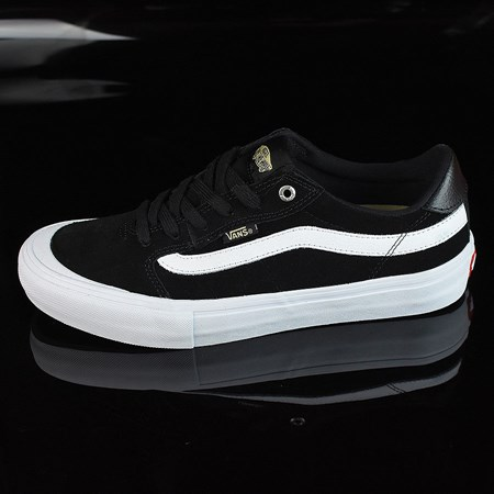 Size 11 in Vans Style 112 Pro Shoes, Color: Black, Black, White