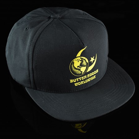 Butter Goods Crescent Snap Back Hat Black