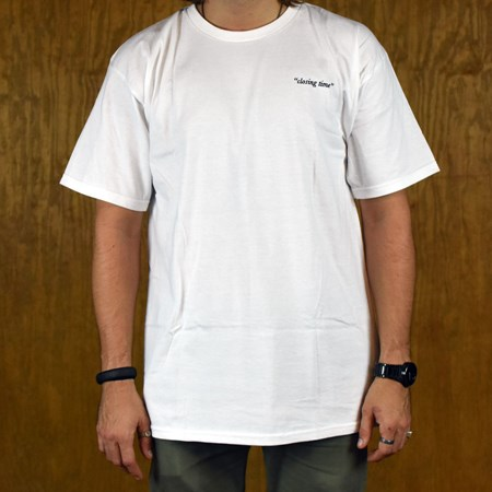 PASS~PORT Closing Time T Shirt White