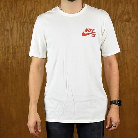 Nike SB GM City Flow T Shirt Cream Small