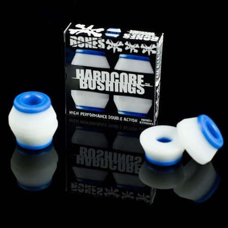 Bones Wheels Hardcore Bushings Blue, White in stock now.