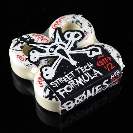 Bones Wheels Gravette Killers Wheels White in stock now.