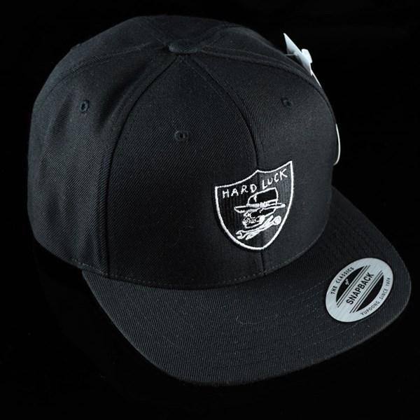Hard Luck Mfg Hard Six Snapback Hat Black