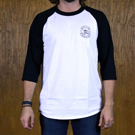 Hard Luck Mfg Great Time Raglan T Shirt White