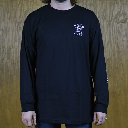 Hard Luck Mfg OG Logo LS T Shirt Black