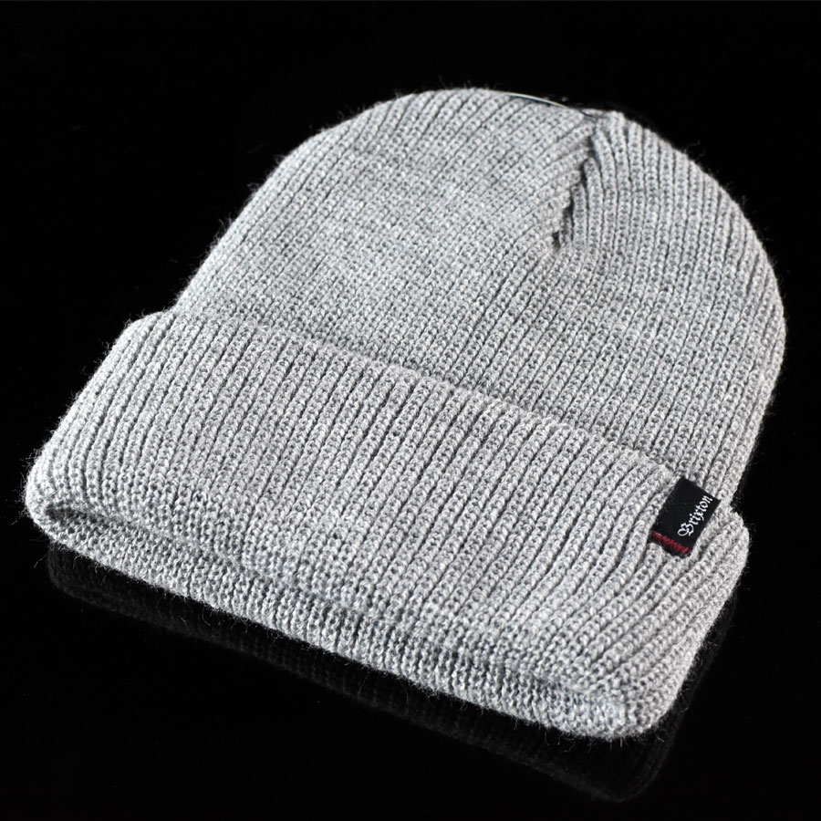 Heather Grey Hats and Beanies Heist Beanie in Stock Now