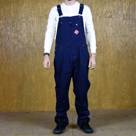 Brixton Fleet Overall Pants Navy