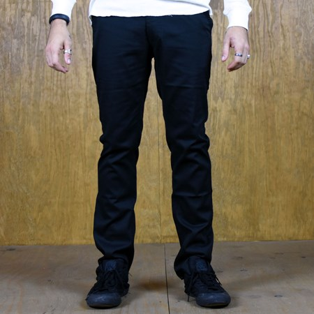Size 38 in Brixton Reserve Standard Fit Chino Pant, Color: Black