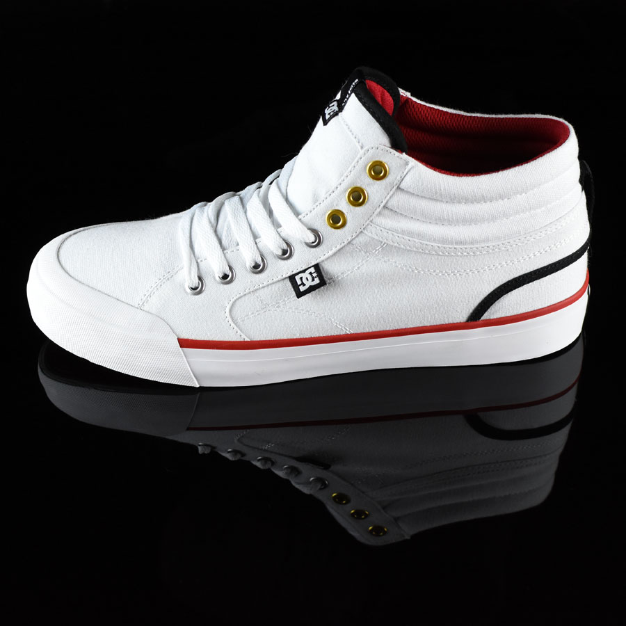 White Shoes Evan Smith HI Shoe in Stock Now