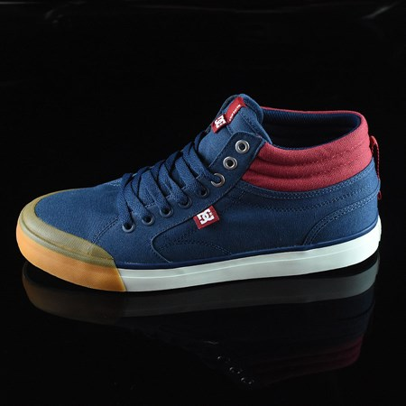 DC Shoes Evan Smith HI Shoe Navy, Red in stock now.