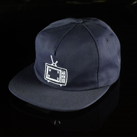 WKND TV Snapback Hat Navy