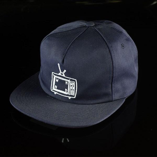 WKND TV Snapback Hat Navy