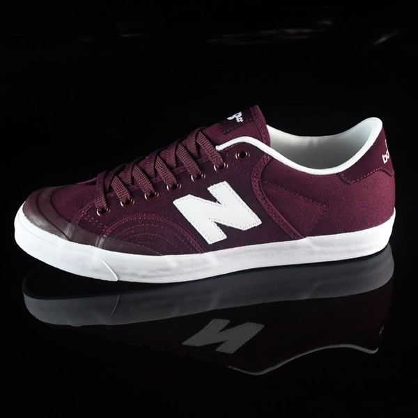 NB# Pro Court 212 Shoes Burgundy