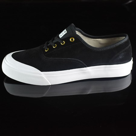 Size 13 in HUF Brad Cromer Pro Shoes, Color: Black, White