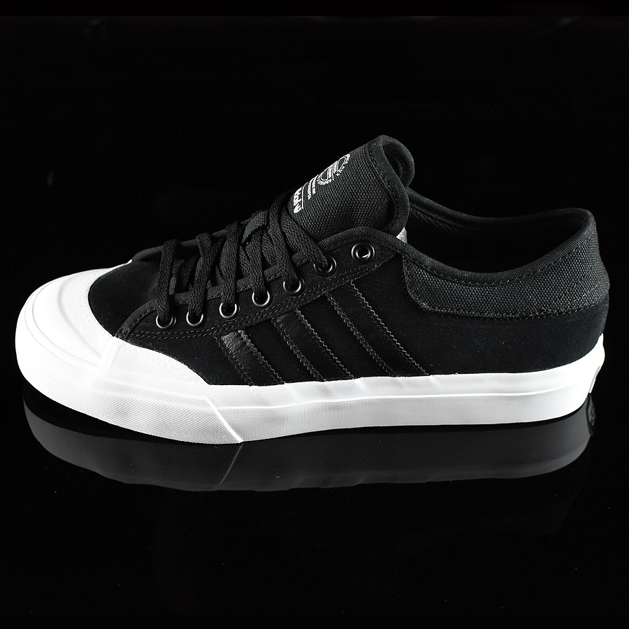 Black, Black, White Shoes Matchcourt Low Shoes in Stock Now