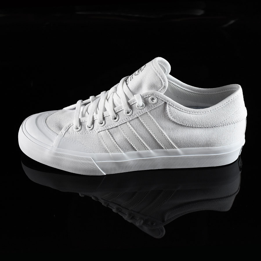 White, White Shoes Matchcourt Low Shoes in Stock Now