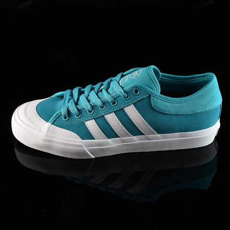 Size 8 in adidas Matchcourt Low Shoes, Color: Energy Blue, White