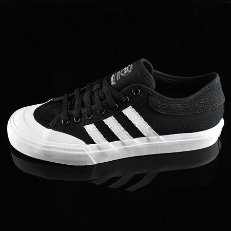 Size 13 in adidas Matchcourt Low Shoes, Color: Black, White