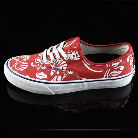 Vans Authentic Pro 50th '66 Shoes Duke. White, Red 11