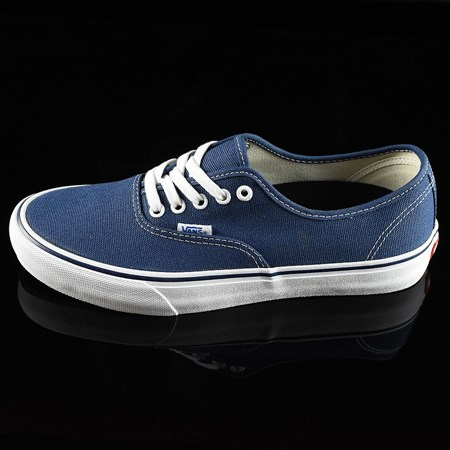 Vans Authentic Pro 50th '74 Shoes Navy, White in stock now.